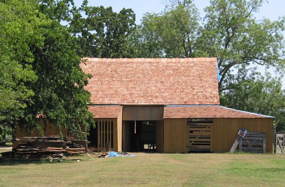 Winedale barn