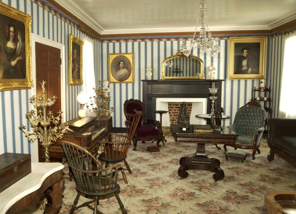 John C. Calhoun House interior