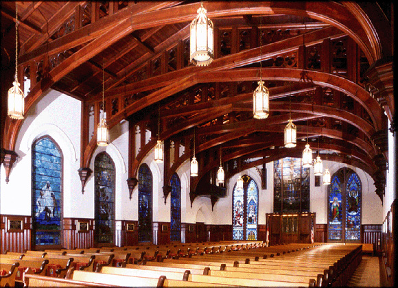 Christ Church Cathedral interior