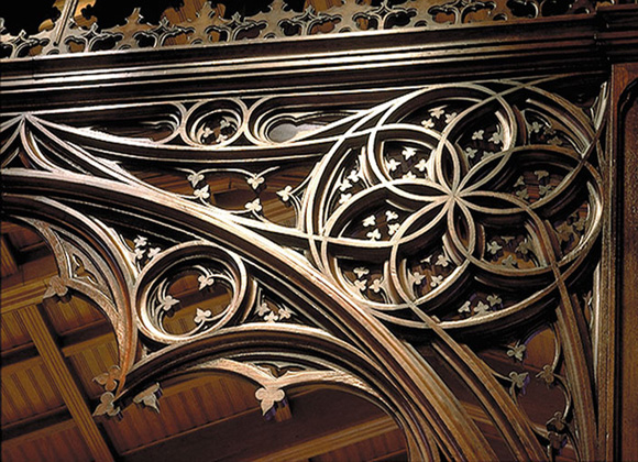 Christ Church Cathedral woodwork