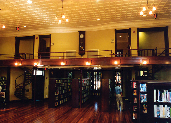 Clark Library interior