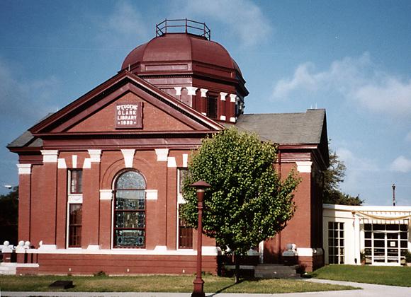 Clark Library exterior