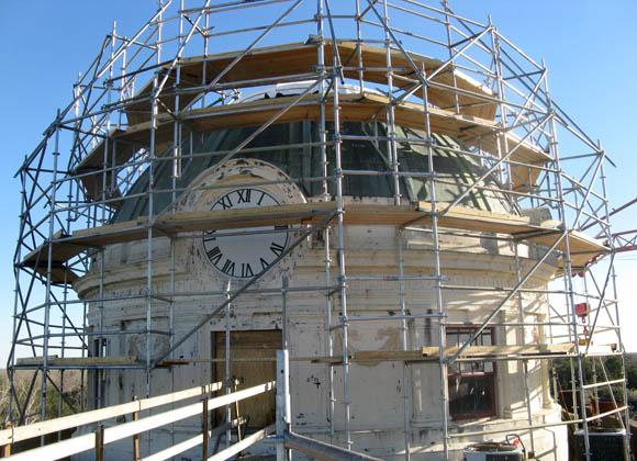 Colorado County Courthouse dome restoration