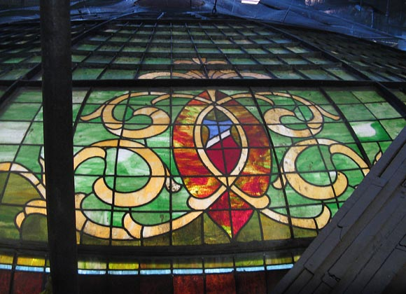 Colorado County Courthouse stained glass