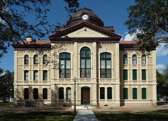 Colorado County Courthouse exterior