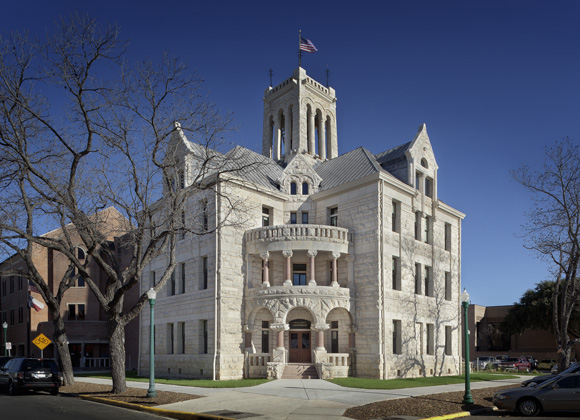 Comal County Courthouse exterior