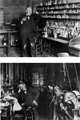Edison Laboratories Thomas Edison