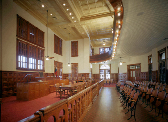 Fayette courtroom