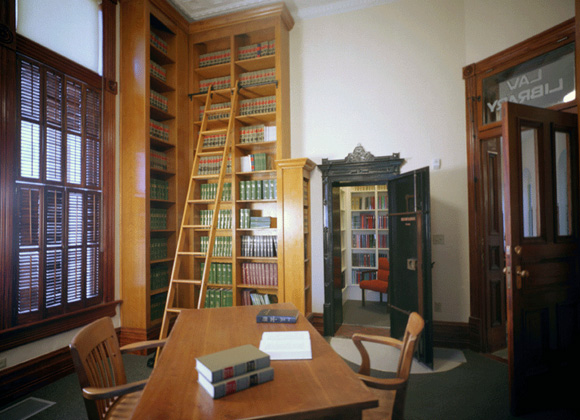 Fayette Courthouse law library