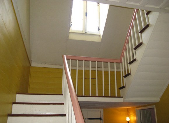 French Legation stairs