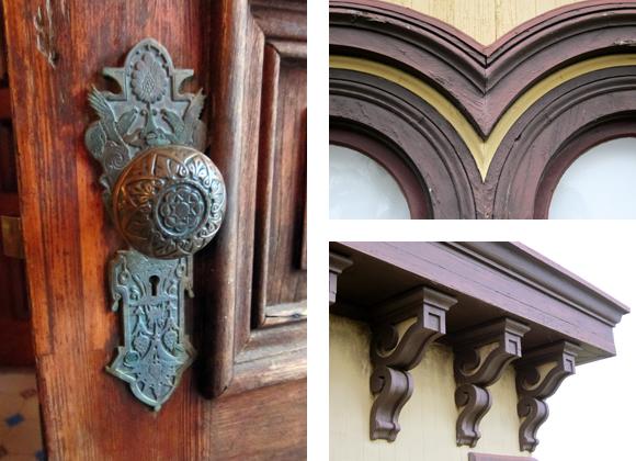 Fulton Mansion Exterior Details