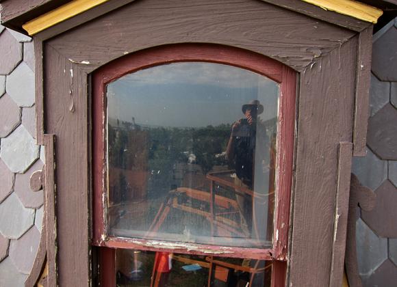 Fulton Mansion Window
