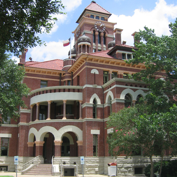 Gonzales County Courthouse exterior
