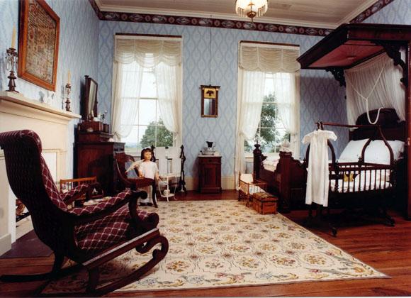Inge-Stoneham House interior