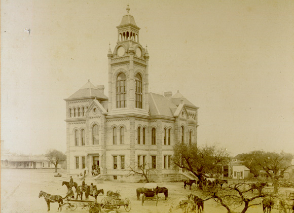 Llano County Courthouse historic