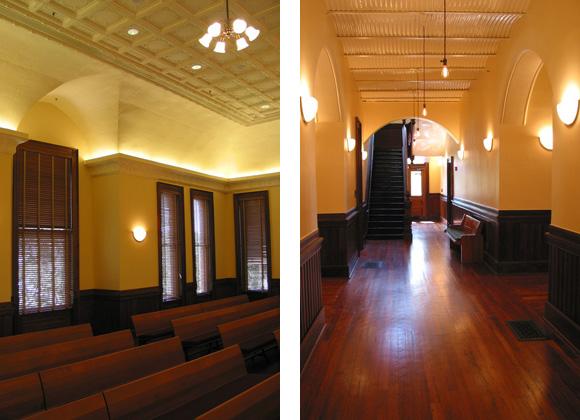 Llano County Courthouse interior