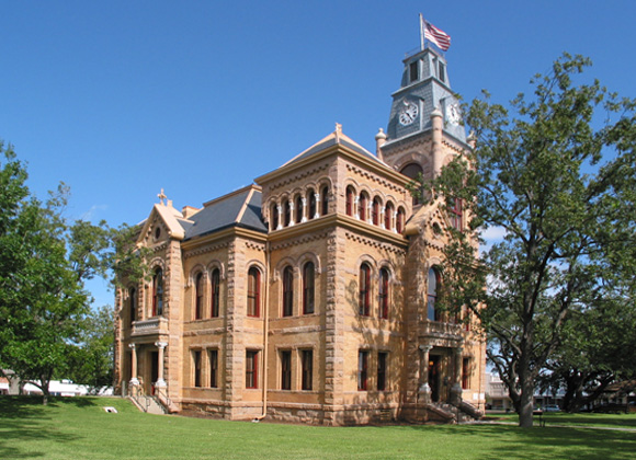 Llano County Courthouse exterior