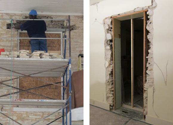 Neill-Cochran House Museum Construction