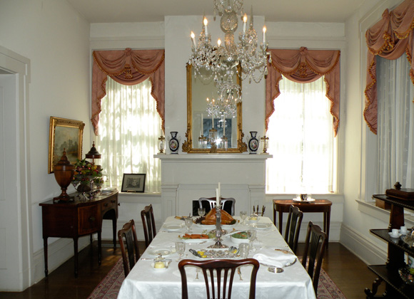 Neill-Cochran House Museum Dining