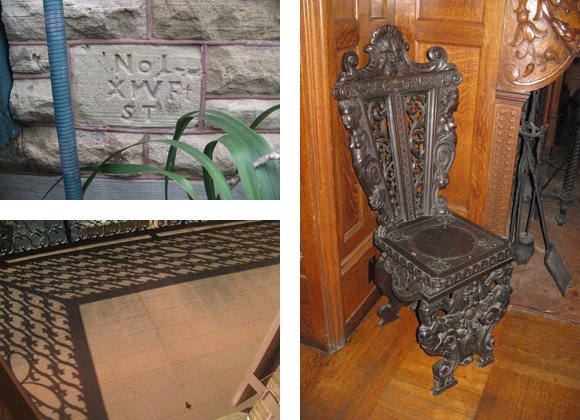 Sealy Mansion Open Gates details