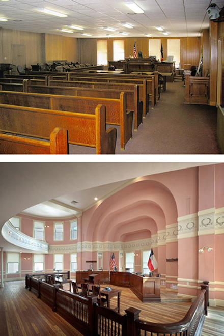 Comal Courtroom_Before and After