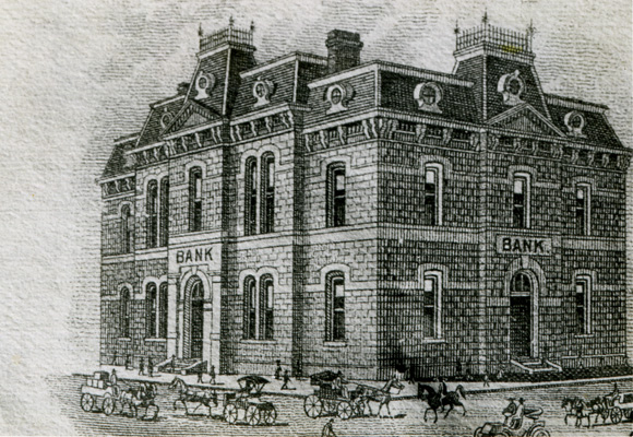 Old Blanco County Courthouse_Etching