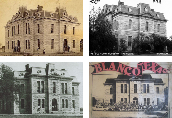 Old Blanco County Courthouse_Historic Photos