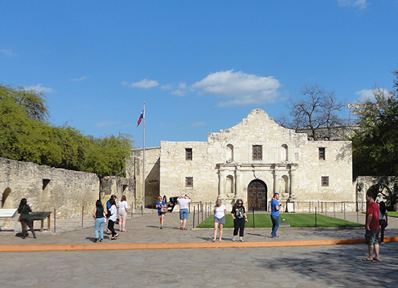 Alamo compound, San Antonio, Texas
