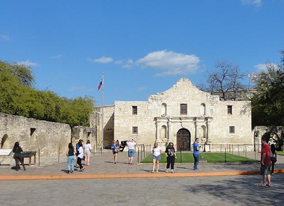 Alamo compound, San Antonio, Texas